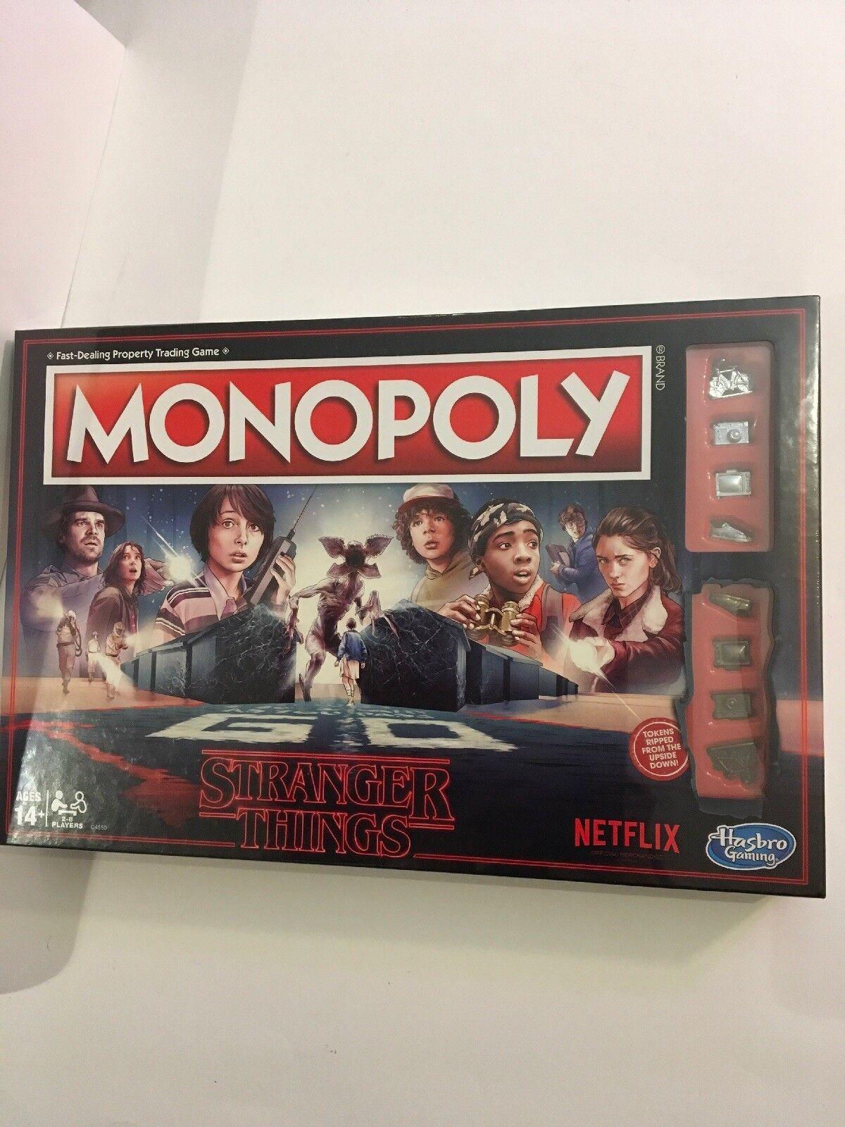 Nib fremder dinge monopol brettspiel  45.00 + versandkosten