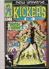 Comic Book - Kickers Inc. #1 Nov 1986 (Birth of a Hero)