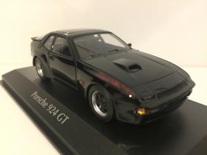 Minichamps 940066124 Porsche 924 GT GT GT 1981 Negro maxichamps 1 43 74da0b
