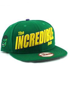 9e960c37f47 New Era Hulk The Incredible 9fifty Snapback Hat Adjustable Marvel ...