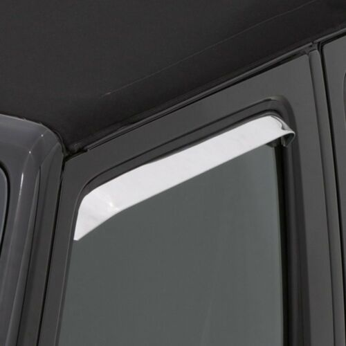 For Ford Bronco 80-96 AVS In-Channel Ventshade Polished Front Window Deflectors
