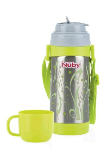 360 ml Nuby Insulated Stainless Steel Thermos Flask