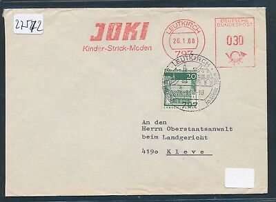 20pf Mit Owst 30pf Afs Joki Moden Flight Tracker 27572 Do-brief 1968 Ab 797 Leutkirch