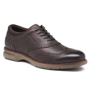 NEW-Mens-G-H-Bass-amp-Co-Propel-Wingtip-Leather-Shoes-Brown-Pick-Size-amp-Width