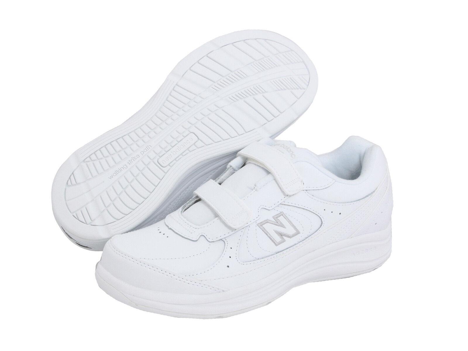 New Balance WW577VW Gancho y Bucle Zapatos para Caminar blancoo Montado en USA