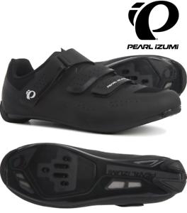 Mens Pearl Izumi Select Road v5 Bike Bicycle Cycling Shoes Black Black NWB