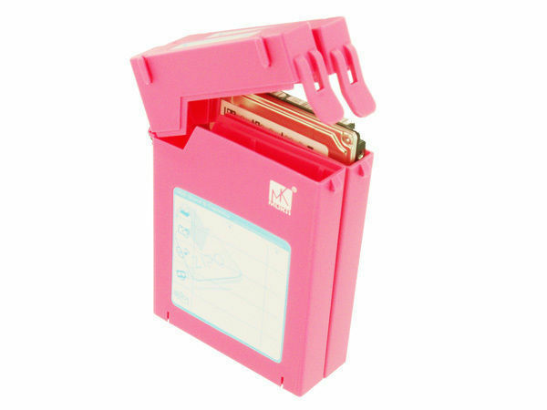 Leuk Mukii Zio-p210-pk (pink) Zipo 2.5in Hdd Stackable Protective Case (case Only)