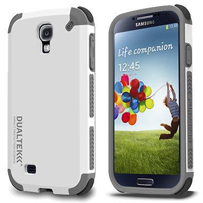 PureGear DualTek Extreme Shock Hard Case Shield For Samsung Galaxy S4 S IV White