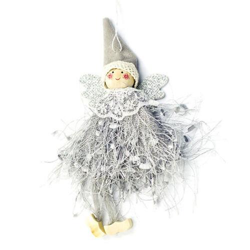 Kawaii Angel Doll Christmas Pendant Christmas Tree Hanging Ornament Xmas DecYJ