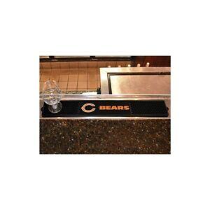 """FanMats Chicago Bears Drink Mat 3.25""""x24"""", 13981"""