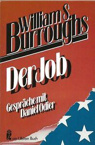 WILLIAM-S-BURROUGHS-034-DER-JOB-034-GERMAN-EDITION-OF-034-THE-JOB-034-DANIEL-ODIER-1986
