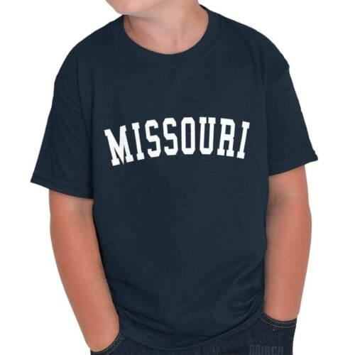 Missouri State Shirt Athletic Wear USA T Novelty Gift Ideas Youth T-Shirt