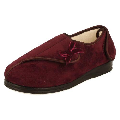 Padders Penny ampia vestibilità pantofola