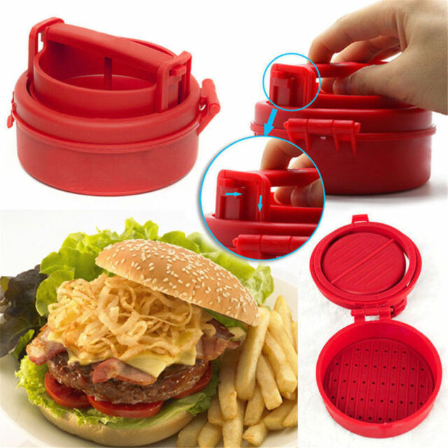 Stuffed Burger Press Hamburger Grill BBQ Patty Maker Juicy As Seen On TV UL
