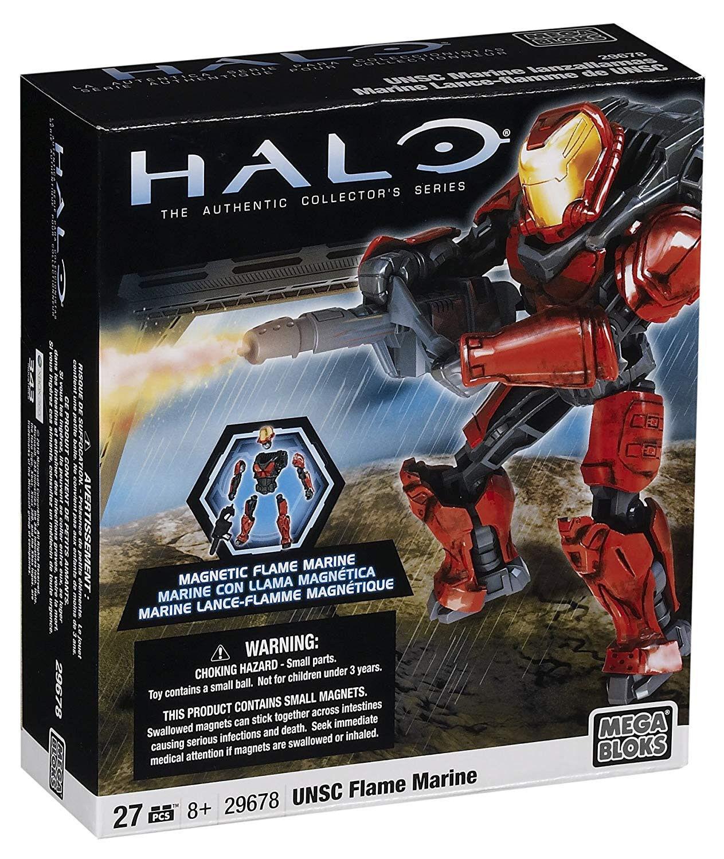 Mega Bloks Halo Wars Wars Wars Metalons UNSC Flame Marine 29678 9dccb3