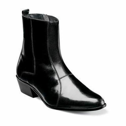 Stacy Adams Men's Santos Slip On Boot Black 24855-001