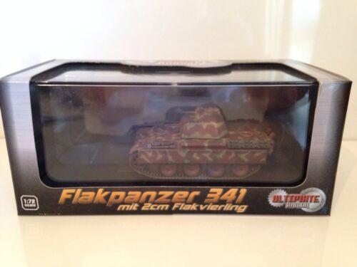 DRAGON ARMOR 60594 Flakpanzer 341 MIT 2cm Flak Vierling 1:72 Scale New