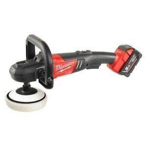 Capable Milwaukee Lucidatrice 18v Fuel M18fap180-502x Velocita' Regolabile 360-2200g/min