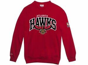 Felpa And Hwc Rosso Atlanta Rosso Ness Mitchell Hawks r8qra5