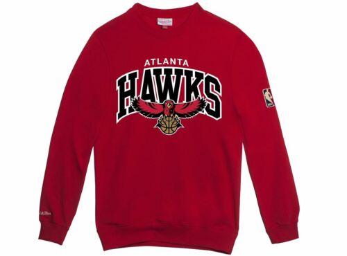 Felpa And Atlanta Hwc Mitchell Ness Rosso Rosso Hawks ffw57n1rPq