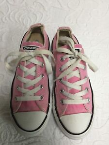 d8b9fe3219fa Image is loading Girls-US-Size-13-Pink-Converse-All-Star-