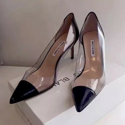 "Manolo Blahnik 42 ""Pacha"" Pumps NIB size 12 but fits more like size 11 or 11.5."