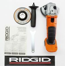 "RIDGID 18V 18 VOLT X4 LITHIUM 4-1/2"" INCH ANGLE GRINDER CUT-OFF R86040B KIT SET"