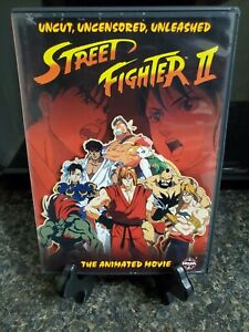 Street Fighter Ii The Animated Movie Dvd 2006 Japanese Master