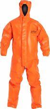 Dupont Tychem Thermopro Tp198t Chemical Hazmat Protection Suit Size L