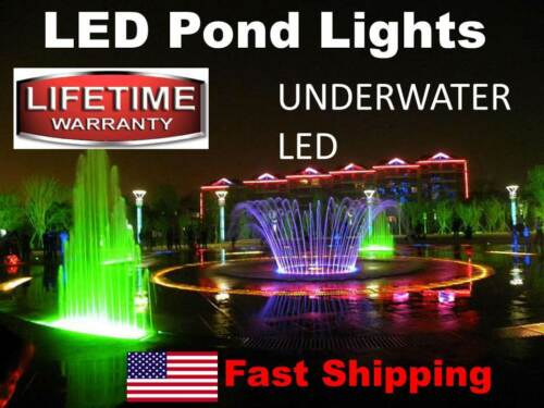 UNDERWATER 16ft. Contractor Commercial Grade Supply LED Swimming Pool Lights