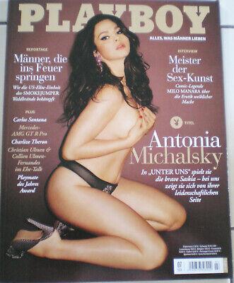 Nackt unter playboy uns Antonia Michalsky