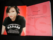 Charmed Beverly Hills 90210 Shannen Doherty signed Badass 1st printing HC book