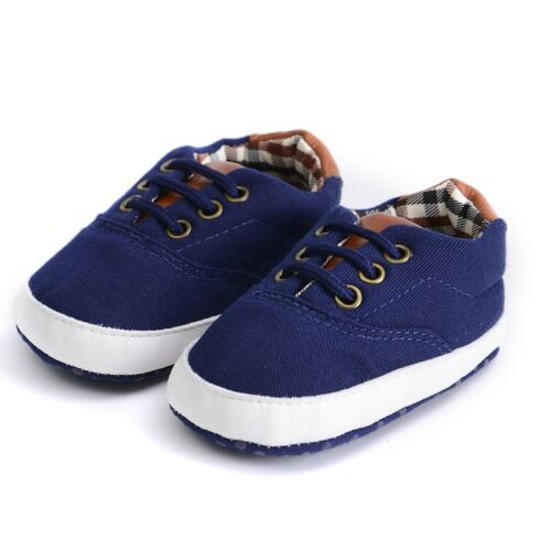 Baby Soft Sole Crib Shoes Infant Boy Girl Toddler Sneaker Anti-Slip 0-12 Months