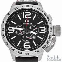 TW Steel Canteen Chronograph 50mm Men's Stainless Steel Quartz Watch