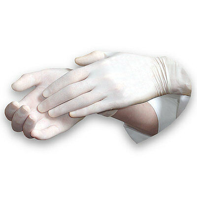 Fortuna: LATEX GLOVES [Pack /100 Gloves] [Size: Small, Medium, Large, X-Large]