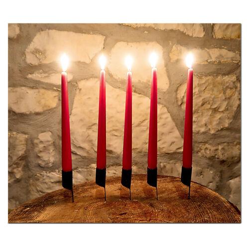 1 Kerzenhalter mit Nagel Kerzenständer