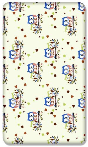 100/% algodón sábanas con patrones Impresa Para Cama Cuna Cuna cotbed Junior