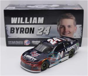 NEW NASCAR 2019 WILLIAM BYRON LIBERTY UNIVERSITY 1 24 CAR