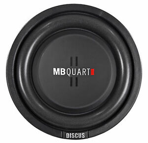 MB-Quart-DS1-204-8-034-Shallow-Mount-Car-Truck-Subwoofer-w-Poly-Cone-2-034-Voice-Coil