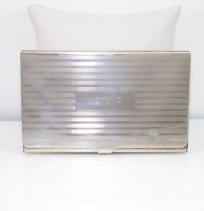 new styles fd9e0 45106 Details about Vintage Tiffany & Co. Sterling Silver Business Card Case  Holder QX