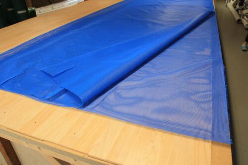 2,50 € 3,50 €//m² Différentes Longueur 440g//m² bleu ciel Vent windschutznetz