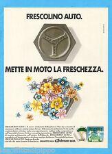 QUATTROR982-PUBBLICITA'/ADVERTISING-1982- FRESCOLINO AUTO  (versione A)