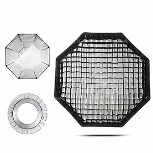 Godox 140cm Pro Studio Octagon Softbox + Honeycomb Grid + Bowens Mount