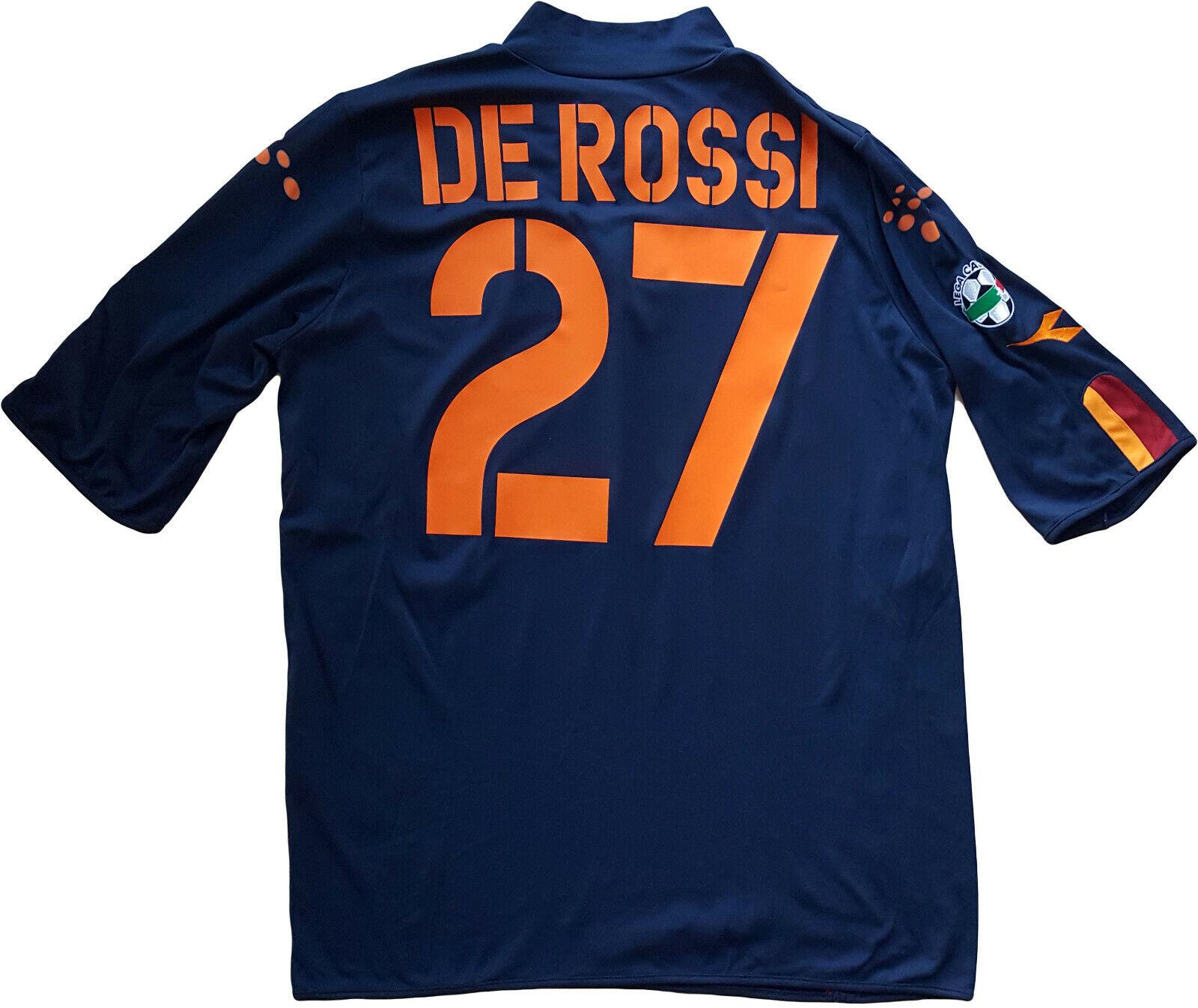 Maglia roma De Rossi 2003 2004 Diadora XL mazda Jersey Away Original UEFA CUP