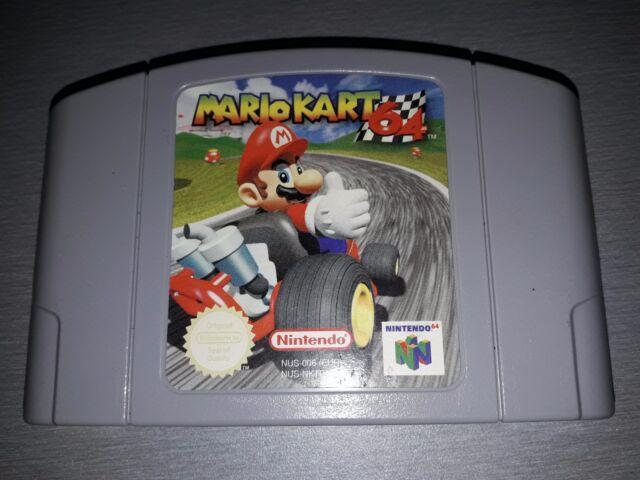 Mario Kart 64 (Nintendo 64, 1997) - European Version pal