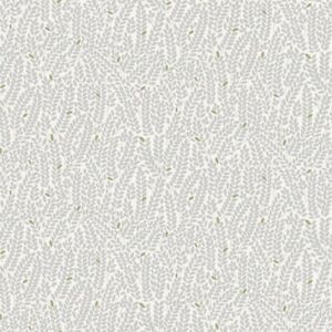 MAKOWER-en el bosque-Trigo-Marfil-TELA DE ALGODÓN patchwork de acolchar