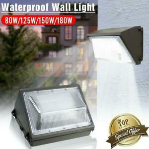 LED-Wall-Pack-80W-125W-150W-180W-5000K-Commercial-Industrial-Light-Fixture