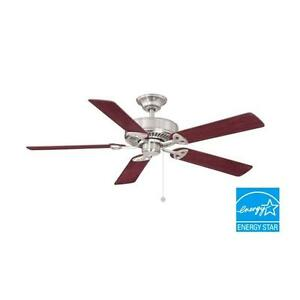 Farmington 52 in. Indoor Brushed Nickel Ceiling Fan Replacement Parts