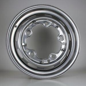 15-Zoll-Stahlfelge-lackiert-5-Loch-ET25-fuer-VW-Kaefer-Cabrio-OE-111601025F-VAG