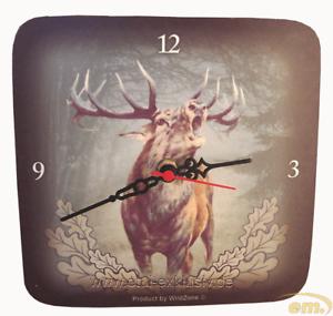 Orologio da parete con motivo selvaggina